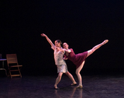 Elisa Toro Franky and Keelin Ryan at the dress rehearsal. (Photo: Andrew Clearfield)